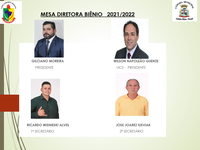 Eleição da Mesa Diretora Biênio 2021-2022
