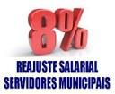 8% é o reajuste salarial aprovado aos servidores de Antônio Olinto